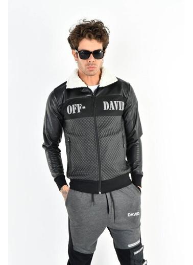 DAVID&GERENZO Ceket Siyah